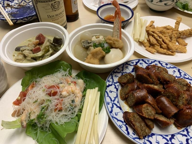 今日はタイお料理たくさんつくりました。_d0372887_18463446.jpeg