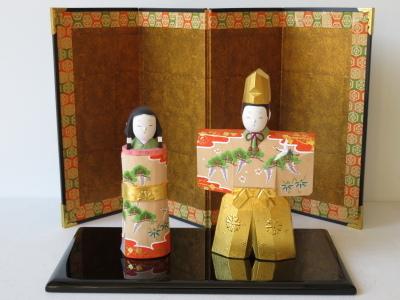 2019年奈良一刀彫 吉岡一泰雛人形展【立ち雛1】_e0256889_22554012.jpg
