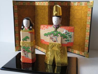 2019年奈良一刀彫 吉岡一泰雛人形展【立ち雛1】_e0256889_23185949.jpg