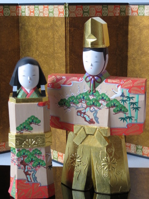 2019年奈良一刀彫 吉岡一泰雛人形展【立ち雛1】_e0256889_23191850.jpg