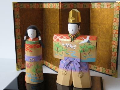2019年奈良一刀彫 吉岡一泰雛人形展【立ち雛1】_e0256889_23233326.jpg