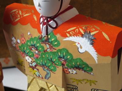 2019年奈良一刀彫 吉岡一泰雛人形展【立ち雛1】_e0256889_23393733.jpg