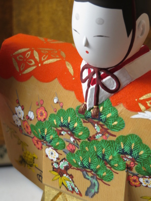 2019年奈良一刀彫 吉岡一泰雛人形展【立ち雛1】_e0256889_23395274.jpg
