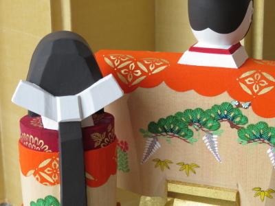 2019年奈良一刀彫 吉岡一泰雛人形展【立ち雛1】_e0256889_23460197.jpg