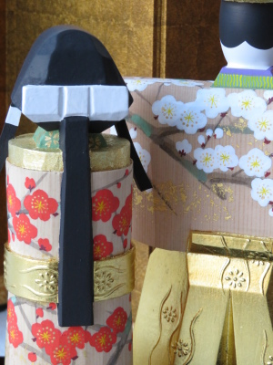 2019年奈良一刀彫 吉岡一泰雛人形展【立ち雛1】_e0256889_23522329.jpg