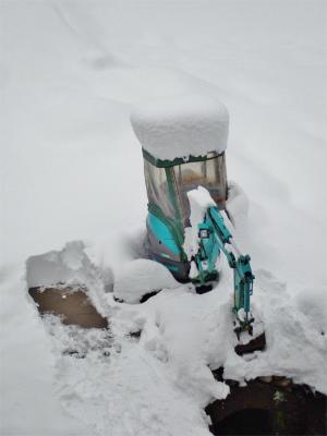 19年シーズン初の雪下ろし!_c0336902_13572520.jpg