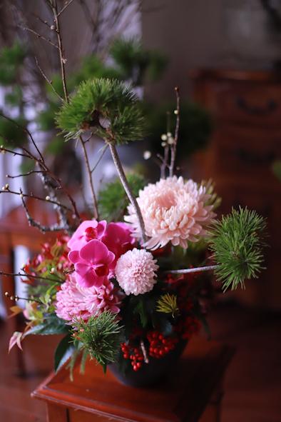 お正月のお花について_b0208604_06321980.jpg