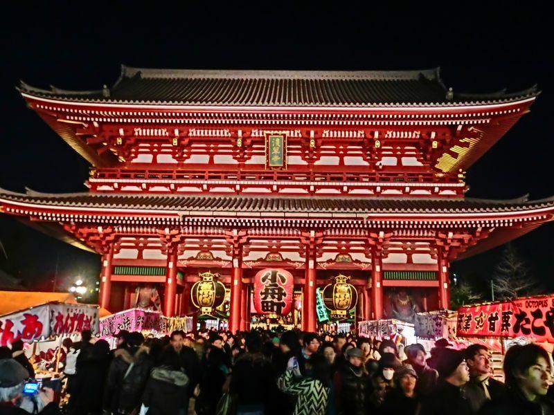 浅草 (2)     宝蔵門_b0408745_10534829.jpg