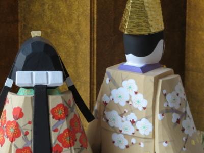 2019年奈良一刀彫 吉岡一泰雛人形展【立ち雛2】_e0256889_00365996.jpg