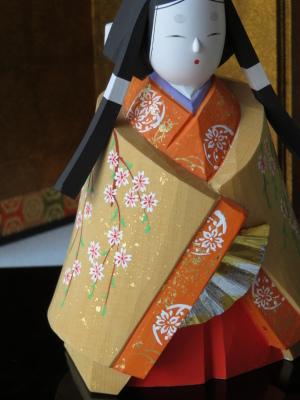 2019年奈良一刀彫 吉岡一泰雛人形展【立ち雛2】_e0256889_00383822.jpg