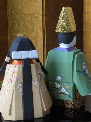 2019年奈良一刀彫 吉岡一泰雛人形展【立ち雛2】_e0256889_00392362.jpg