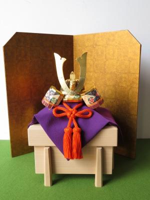 【公式】2020年出品 奈良一刀彫 吉岡一泰雛人形展【 兜1 】_e0256889_01125017.jpg