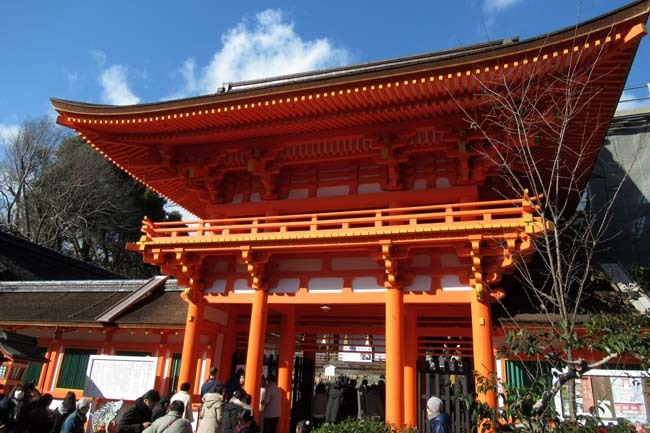 初もうで 上賀茂神社_e0048413_22243321.jpg