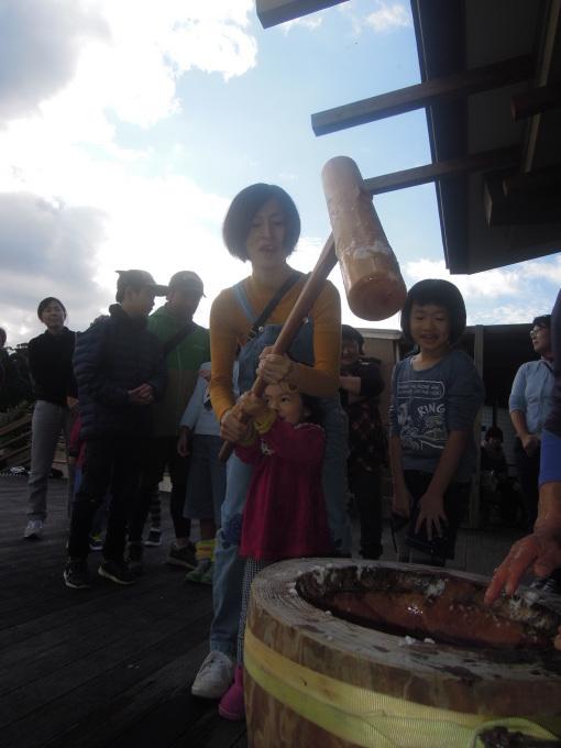 新春餅つき大会!!_f0121321_17124054.jpg