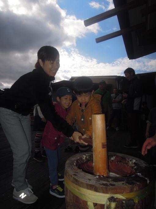 新春餅つき大会!!_f0121321_17155738.jpg