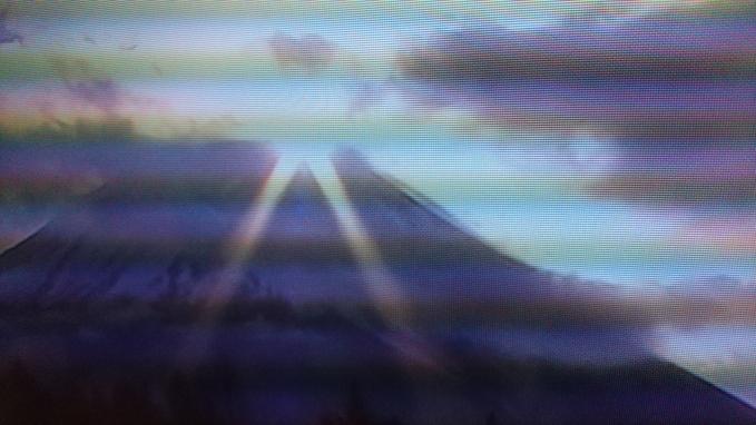 初日の出は、テレビ朝日さん。函館は雪模様_b0106766_9193686.jpg