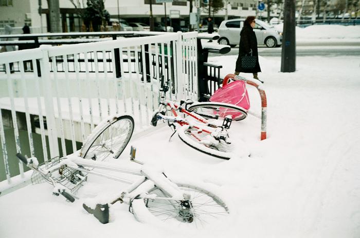 雪の降らない正月とナトリウムランプの街灯_c0182775_17104735.jpg