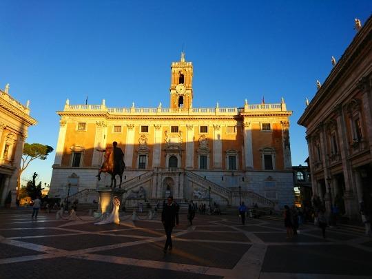 欧州出張2018年09月-イタリア・ローマー第八日目-ローマの夕暮れ観光とディナー_c0153302_20545067.jpg