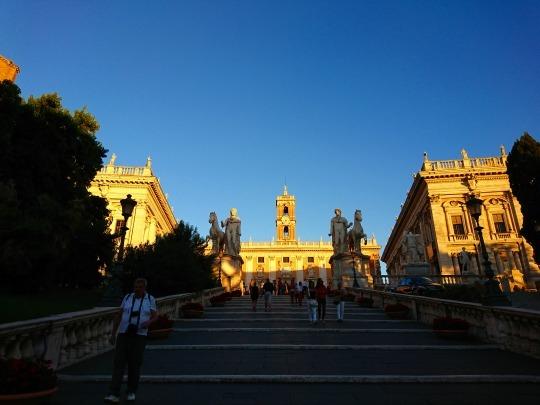 欧州出張2018年09月-イタリア・ローマー第八日目-ローマの夕暮れ観光とディナー_c0153302_20545072.jpg