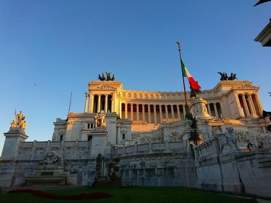 欧州出張2018年09月-イタリア・ローマー第八日目-ローマの夕暮れ観光とディナー_c0153302_20545130.jpg