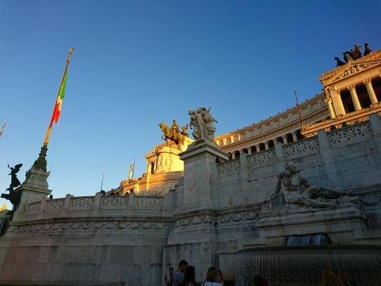 欧州出張2018年09月-イタリア・ローマー第八日目-ローマの夕暮れ観光とディナー_c0153302_20545133.jpg