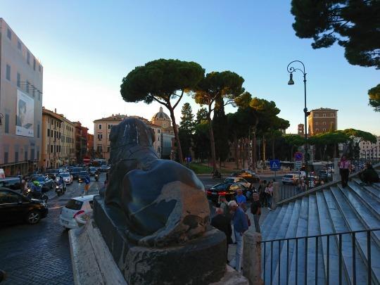 欧州出張2018年09月-イタリア・ローマー第八日目-ローマの夕暮れ観光とディナー_c0153302_20545155.jpg