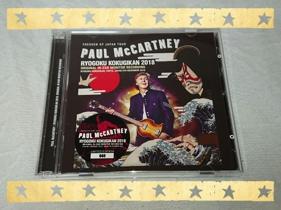 PAUL McCARTNEY / RYOGOKU KOKUGIKAN 2018_b0042308_14353283.jpg