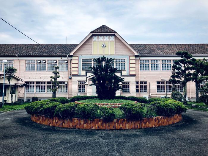 千葉県立安房南高等学校旧第一校舎 / iPhone 8_c0334533_22535296.jpg