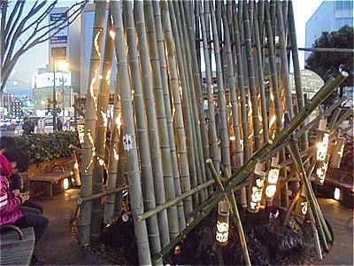 竹の正月飾り_c0087349_04484870.jpg