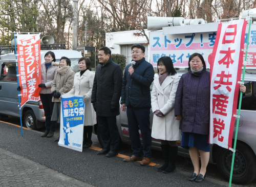 新春 初宣伝と初街宣_b0190576_00554868.jpg