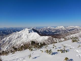 雪不足の大日_e0064783_22011703.jpg