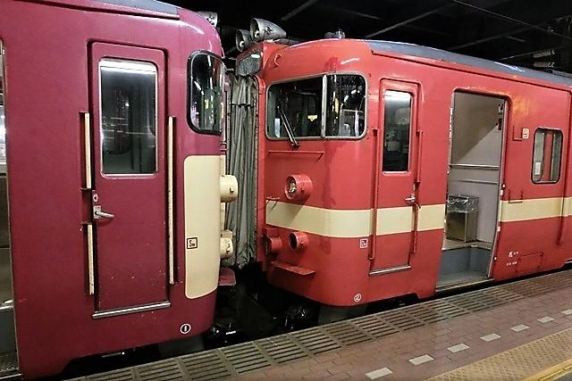 藤田八束の鉄道写真@仲の良い二人に会って嬉しいです。・・・目線で変わる車両の可愛さ、連結部分の可愛さ_d0181492_23122480.jpg