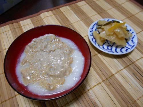 くるみ餅&簡単チーズケーキ_f0019498_18411824.jpg