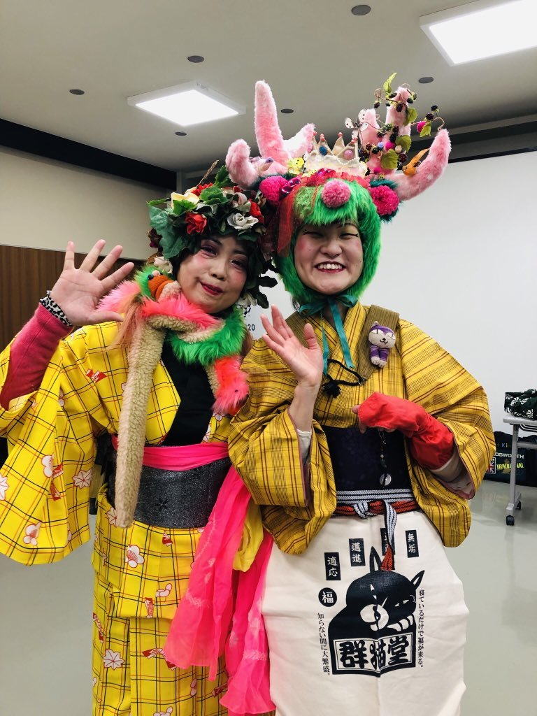 お正月の祝福芸_e0303005_18440221.jpg