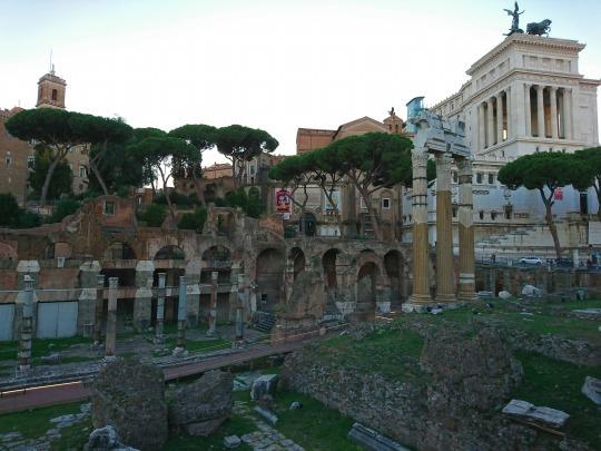 欧州出張2018年09月-イタリア・ローマー第八日目-ローマの夕暮れ観光とディナー_c0153302_01525207.jpg