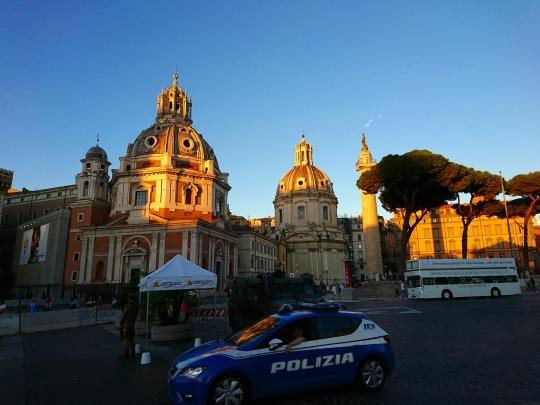欧州出張2018年09月-イタリア・ローマー第八日目-ローマの夕暮れ観光とディナー_c0153302_01525244.jpg