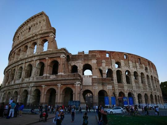 欧州出張2018年09月-イタリア・ローマー第八日目-ローマの夕暮れ観光とディナー_c0153302_01525259.jpg