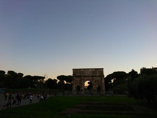 欧州出張2018年09月-イタリア・ローマー第八日目-ローマの夕暮れ観光とディナー_c0153302_01525272.jpg