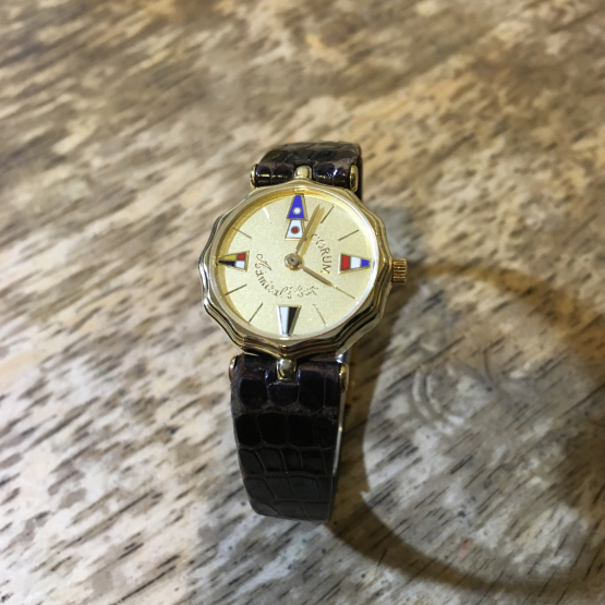 CORUM コルム アドミラルズカップ レディース時計の修理_b0167617_10560024.jpg