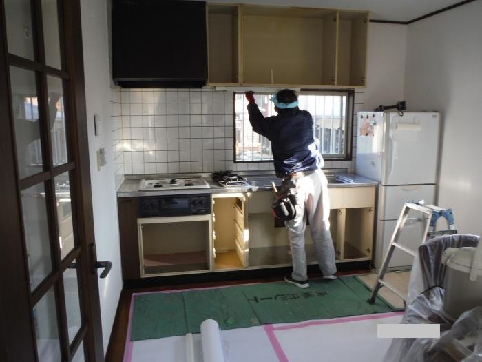 キッチン取替え ~ 古いキッチン取外し。_d0165368_06160745.jpg