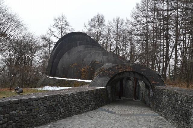 冬の軽井沢④:石の教会_c0124100_10491104.jpg