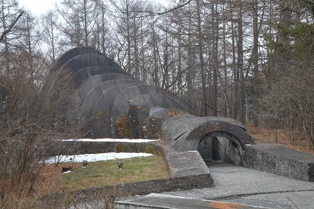 冬の軽井沢④:石の教会_c0124100_10501512.jpg
