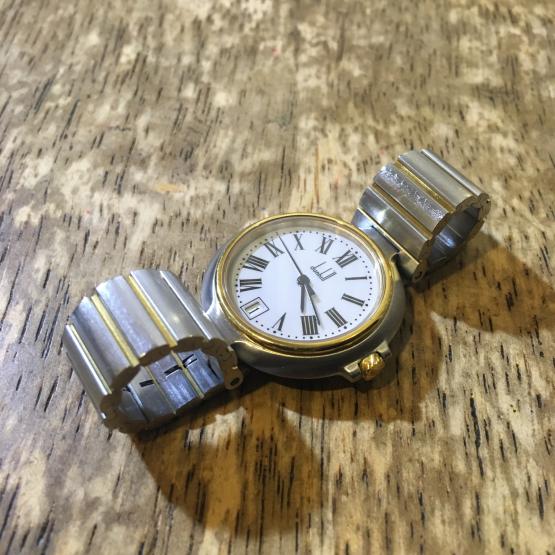 DUNHILL ダンヒル ミレニアム クオーツ時計の修理_b0167617_10255870.jpg
