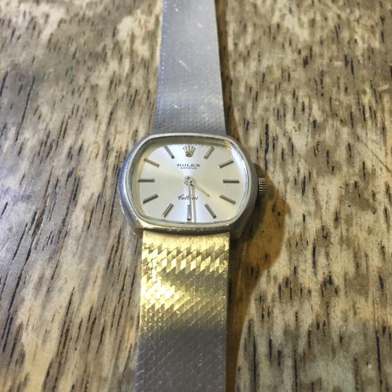 ROLEX ロレックス チェリーニ 手巻き時計の修理_b0167617_14100064.jpg