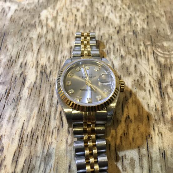 ロレックス オイスター デイトジャスト レディース 時計修理_b0167617_14134774.jpg