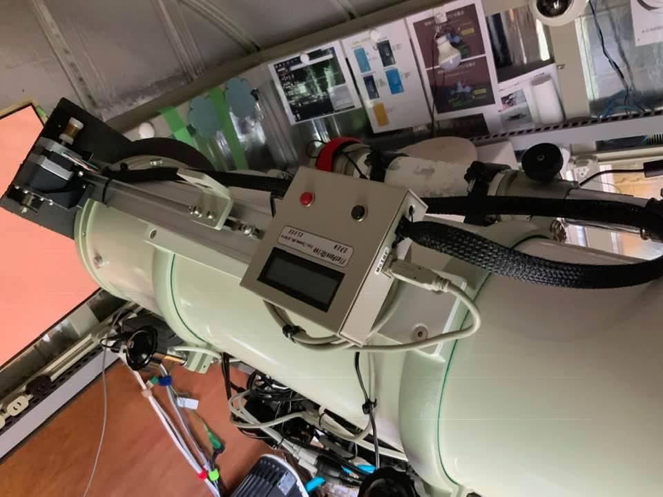 リモート天文台の望遠鏡を入れ替えた_c0061727_12432751.jpg