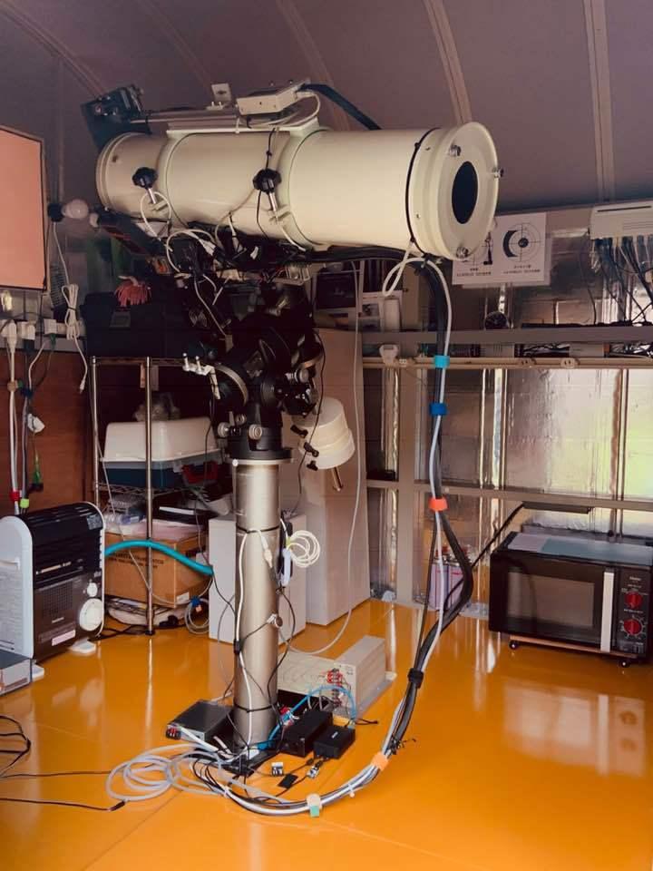 リモート天文台の望遠鏡を入れ替えた_c0061727_12432777.jpg