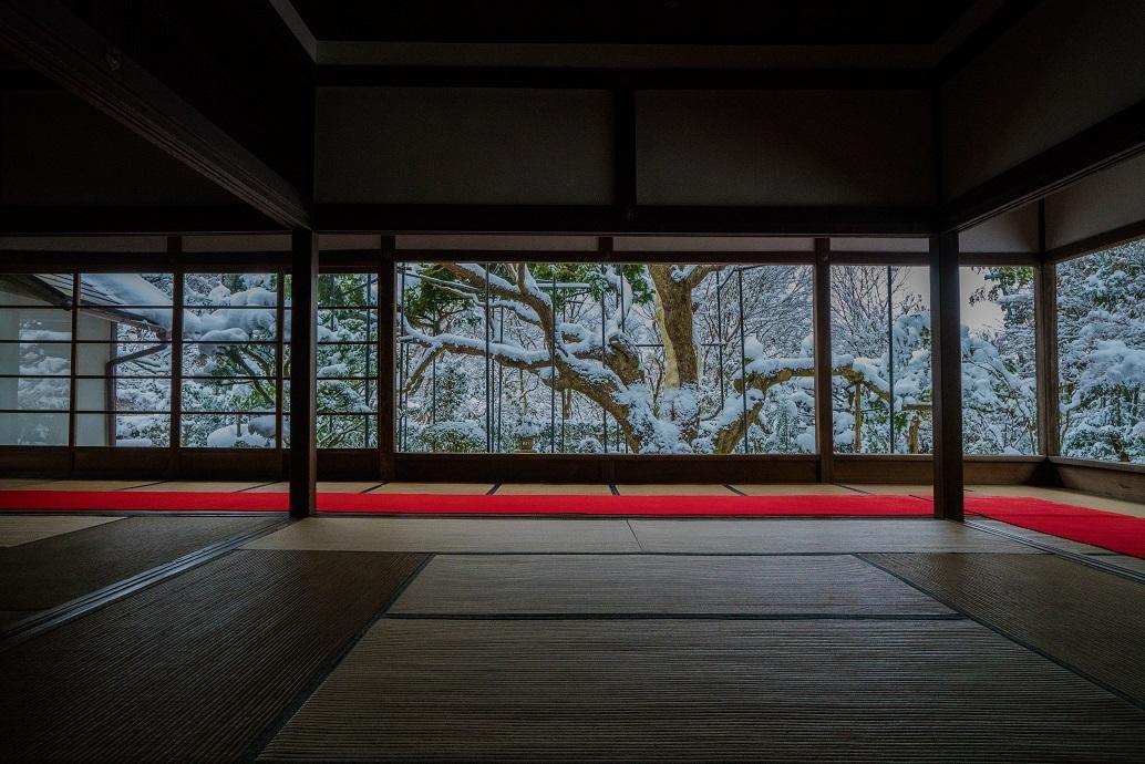 宝泉院の雪景色_e0363038_13554656.jpg