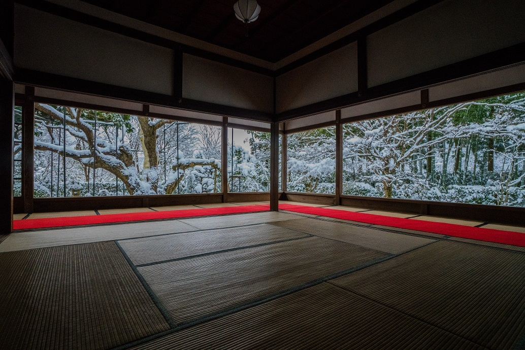 宝泉院の雪景色_e0363038_13561331.jpg