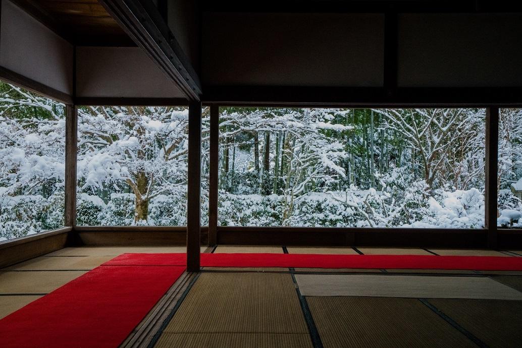 宝泉院の雪景色_e0363038_13562988.jpg